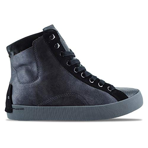 25000AA1 Grey Sneakers High Woman Crime London Dark gq5SxZ4