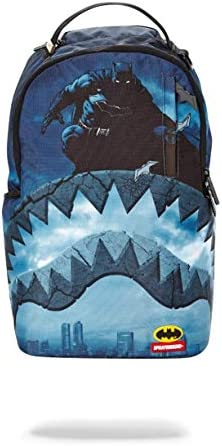 SPRAYGROUND BACKPACK BATMAN 80TH ANNIVERSARY SHARK