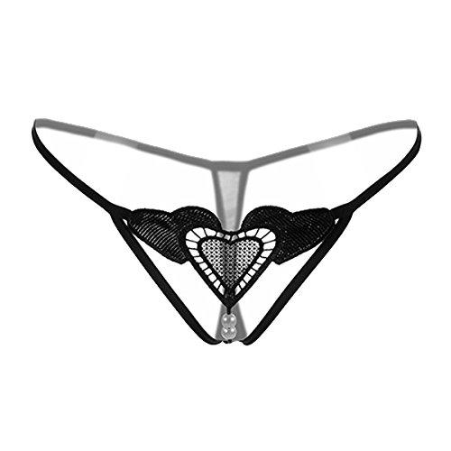 Memphis Reans - Tangas - para mujer 061 Black