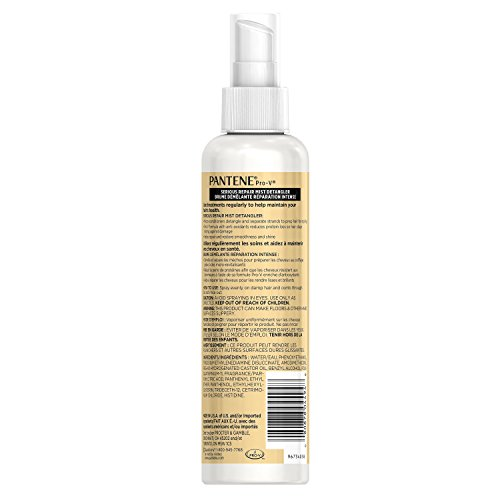 080878044948 - Pantene Pro-V Medium-Thick Hair Solutions Silkening Detangler 8.50 oz (Pack of 3) carousel main 1
