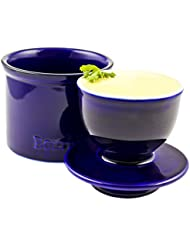 Zoie + Chloe Butter Keeper Crock: Fresh and Soft Butter Without Refrigeration
