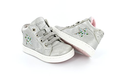 Shoesme UR5S029-C Urban Sneaker in Silber Gr. 22-28