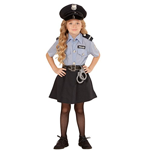 Detective disguise girl Kids police officer costume S 128 cm 5-7 years carnival uniform agent Child outfit Meter Maid traffic warden Shrove Tuesday clothing ...  sc 1 st  Desertcart & Detective disguise girl Kids police officer costume S 128 cm 5-7 ...