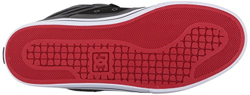 Dc Heren Spartaans Hoge Wc Skate Schoenen Zwart / Rood / Zwart