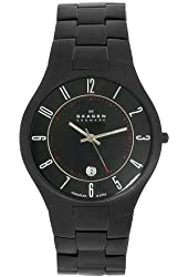 Skagen Men's 801XLTBXB Sports Titanium Links in Black Watch