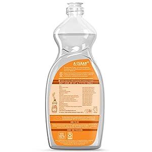 Seventh Generation Dish Liquid, Clementine Zest & Lemongrass Scent, 25 oz (Pack of 6)