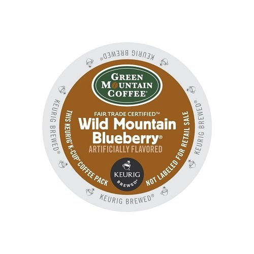 Green Mountain Coffee Tolerable Roast K-Cup for Keurig Brewers, Fair Trade Wild Mountain Blueberry Coffee (Pack of 96)