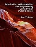 img - for Introduction to Computation and Programming Using Python (Fall 2012) book / textbook / text book