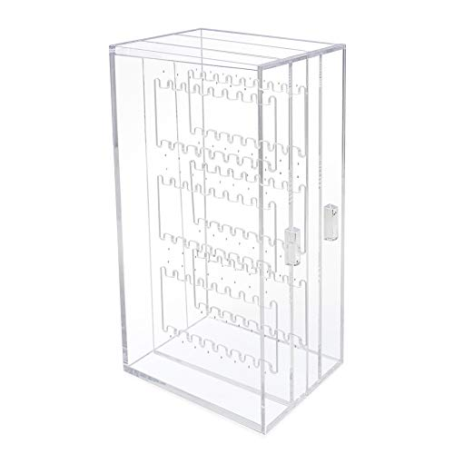 necklace display case wallmount - 6