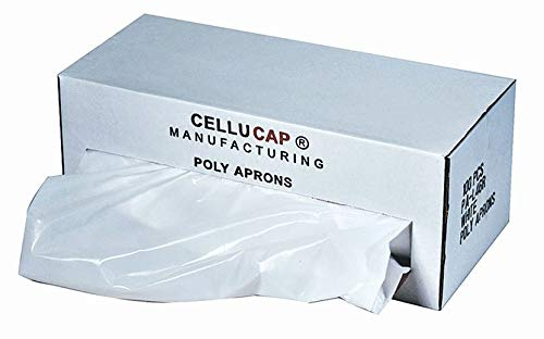 Cellucap Apron - Cellucap Disposable Apron, White, 46