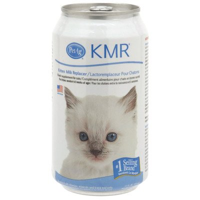 KMR Milk Replacer Liquid for Kittens [Set of 2] Size: 11 Ounce