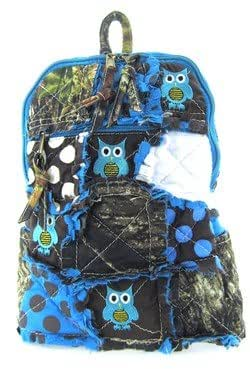 Amazon Com Cute Patchwork Camo Owl Small Backpack Purse