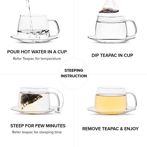 Teabox Darjeeling Silver Needle White Tea, 16 Tea Bags   100% Natural Premium High Altitude Darjeeling CTM Silver Needle Tea   Low Caffeine and High Anti-Oxidants   Sealed-at-Source Freshness by Teabox (Image #4)