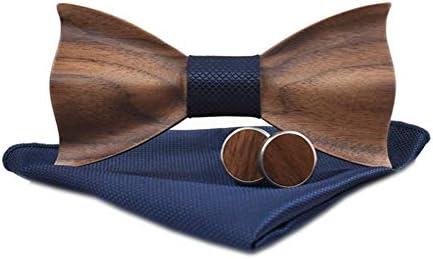 Novelty Handmade Groomsman Pre tie Cufflinks product image