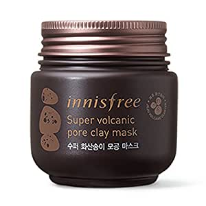 Innisfree Super Volcanic Pore Clay Mask, 3.38 Ounce
