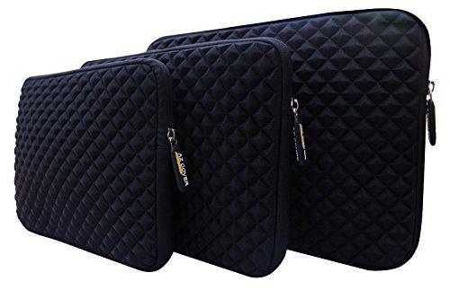 AZ-Cover 12.5 Inch Laptop Sleeve case (Black) For Toshiba - Satellite Radius 2-in-1 12.5