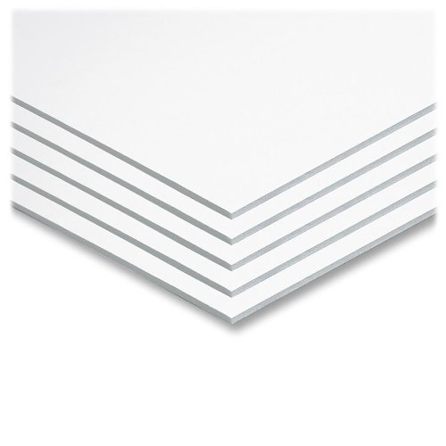 """Pacon hGXMEf Foam Board, 22"""" X 28"""", White (5557), Set of 5 (Pack of 4)"""