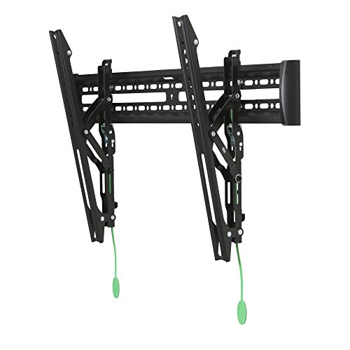 """Kanto KT3260 Tilting TV Wall Mount – Fits 32"""" to 60"""" Monitors – Fits VESA Sizes 100x100 to 600x400 – Tilt Mechanism – Quick Release Tabs – Solid Steel Construction - Inch Tvs Flat Sale Screen 32 On"""