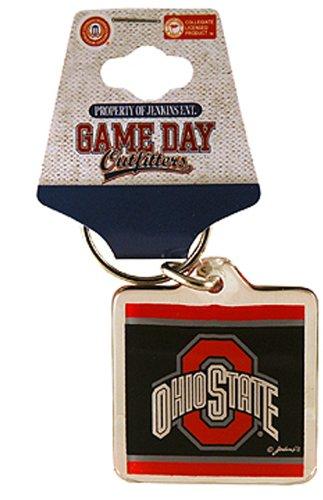 NCAA Ohio State Buckeyes Lucite Logo Keychain