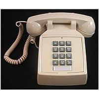 CORTELCO ITT-2500-V-IV / 250009-VBA-20M Desk w/ Volume IVORY
