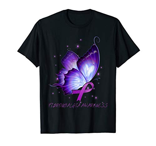 FIBROMYALGIA Awareness butterfly ribbon - Butterfly Ribbon Fibromyalgia