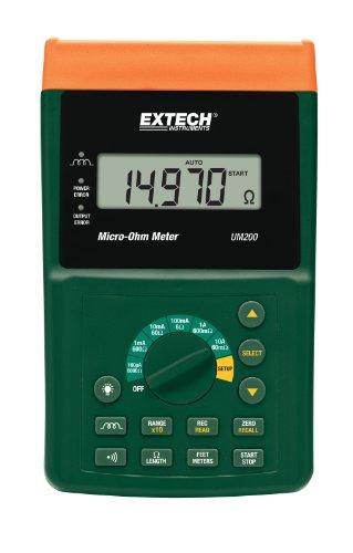 Extech UM200 Micro Ohm-Meter