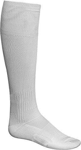 Admiral Professional Soccer Socks, White, Adult (Design Your Own Soccer Ball)