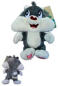 Gato Silvestre Baby 20cm Peluche Suave Muñeco Warner Baby Looney Tunes Silvester