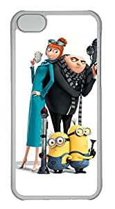 iphone 6 4.7 Case, iphone 6 4.7 Cases - Anti-Scratch Crystal Clear Hard Back Case for iphone 6 4.7 Despicable Me 32 Shock-Absorption Hard Back Bumper Case for iphone 6 4.7