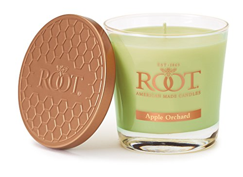 Root Legacy Veriglass Scented Beeswax Candle  Small  Apple Orchard