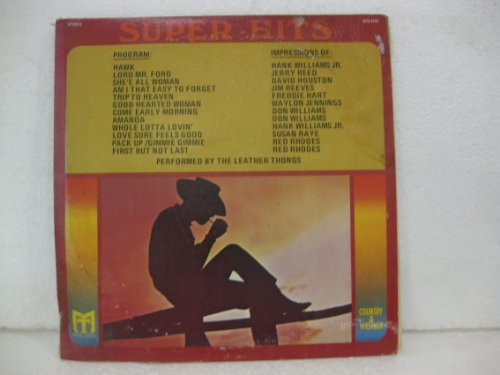 Super Hits Country & Western Performed By The Leather Thongs (Jimi Hendrix Leather)