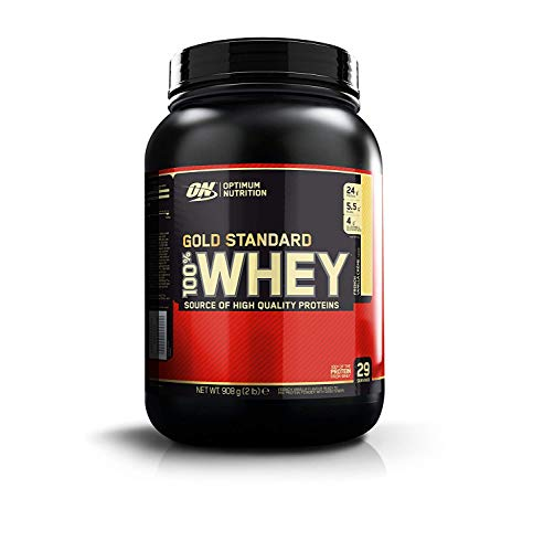 OPTIMUM NUTRITION GOLD STANDARD 100% Whey Protein Powder, French Vanilla Creme, 2 Pound (Best Protein For Women Muscle Gain)