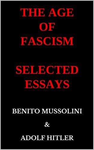 Romeo And Juliet English Essay The Age Of Fascism Selected Essays By Mussolini Benito Hitler Adolf After High School Essay also Professional Article Writing Services Amazoncom The Age Of Fascism Selected Essays Ebook Benito  Narrative Essay Examples High School