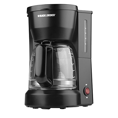 Black Decker DCM600B 5 Cup Coffeemaker product image