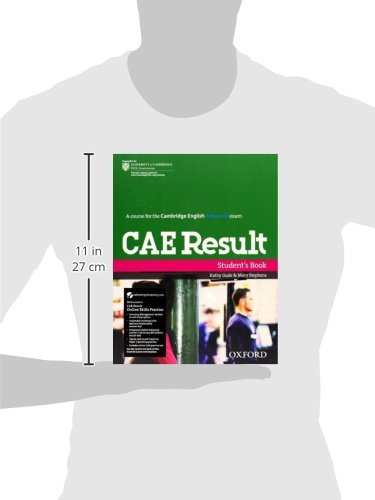 CAE Result Students Book and Online Skills Practice Pack Cambridge Advanced English Cae Result: Amazon.es: Gude, Kathy, Stephens, Mary: Libros
