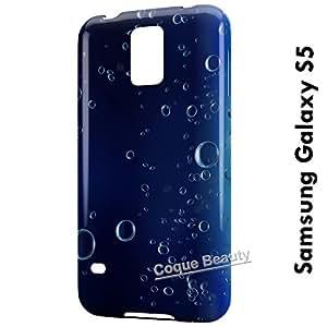 Carcasa Funda Galaxy S5 Bubbles under water Protectora Case Cover