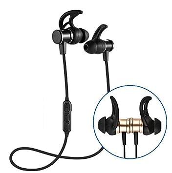 YOPEEN Auriculares inalámbricos Bluetooth magnético para Huawei/Vivo//OPPO mijo/Estéreo sobrepeso