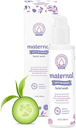 Maternal Anti-Blemish Face Wash 6 oz - For Acne Prone And Problem Skin - Safe And Effective For Expecting Mom To Be And Beyond Pregnancy (Best Face Wash For Acne During Pregnancy)