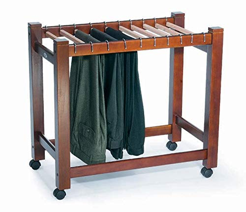 - Wooden Pant Trolley/Trouser Rack