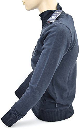 Scuro Felpa Dark Cotone Blue Blu Woolrich Wkfel0881 Bambina Junior Art Sr40 BqOxdxXwz