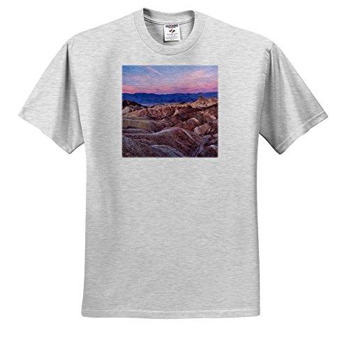 - Danita Delimont - Deserts - USA, California, Death Valley. Sunrise Over Zabriskie Point. - T-Shirts - Youth Birch-Gray-T-Shirt Small(6-8) (TS_278595_28)
