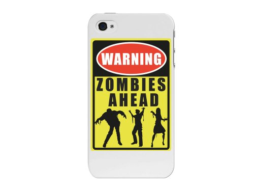 Cellet Zombie Sign Proguard Case for Apple iPhone 4/4S - Black