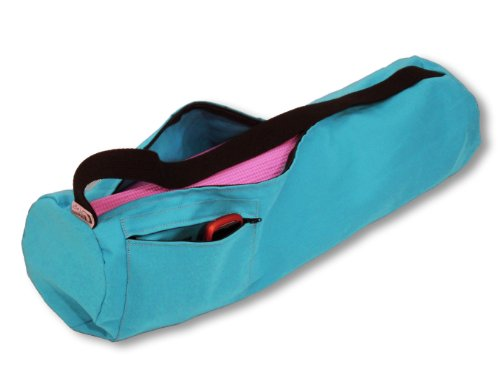 Bean Products Yoga Mat Bags from A Multitude of Colors in Cotton, Organic Cotton or Hemp - 2 Sizes - Choose Large for Standard Mats or Extra Large for Oversize or More Room for Accessories