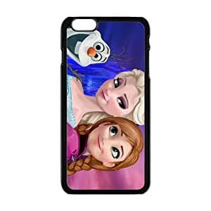 HDSAO Frozen Princess Elsa and Anna Cell Phone Case for Iphone 6 Plus
