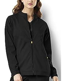 WONDERWINK Womens Plus-Size Next Boston Warm Up Women's Plus Scrub Jacket