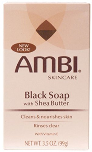 Ambi Skin Care Black Soap With Shea Butter - 5