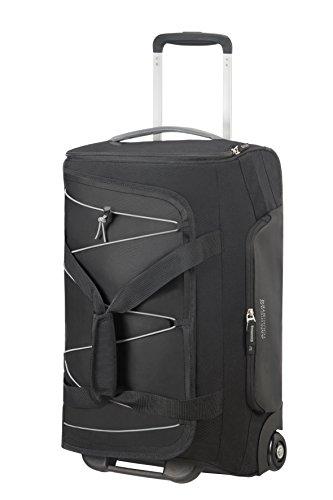 American Tourister Road Quest Wheeled Duffle Reisetasche, 55 cm, 42 Liter, Black/Grey