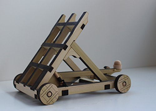 Catapult Kit - Build Your Own Wooden Mini Medieval Warfare ...