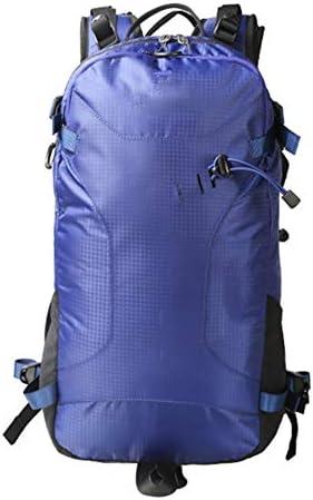 25Lアウトドアスポーツハイキングバックパック、 ポリエステル生地、 ロッククライミング/観光、 男性と女性,Darkblue