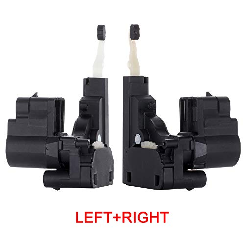 ROADFAR 2pcs Power Door Lock Actuators Front/Rear Left + Front/Rear Right Fits for Chevrolet 746-017 8D1013 DLA118 746-011 8D1012 -